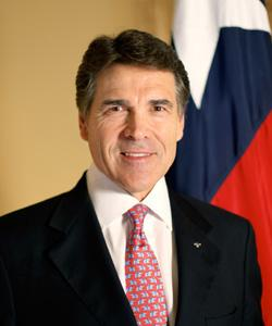 Texas Gov. Rick Perry is traveling to Missouri on Aug. 29 to promote the Lone Star State as a good place to do business.