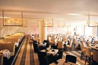 The 51fifteen Restaurant and Lounge was revamped a month ago with new carpets  and raised banquettes.