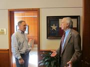 As chairman of the board, Stevens works closely with the CEO of HLSR, Skip Wagner.