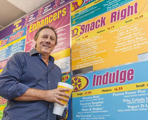Dave McMahon has 22 Smoothie King franchises in Houston and employs more than 200. His locations averaged $11 million in sales in 2011.