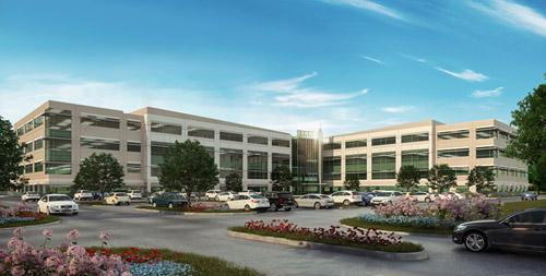 Two engineering firms have inked deals as anchor tenants at the new Transwestern office complex.