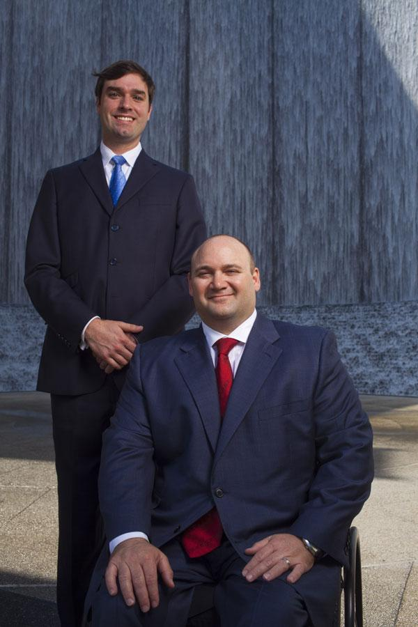 Scott Monteverde, left, and Don Whitehead are the wealth advisers at The Whitehead Group.