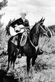 """Gene Autry """"the Singing Cowboy"""" was the performer at the rodeo in 1945, when Stevens first went."""