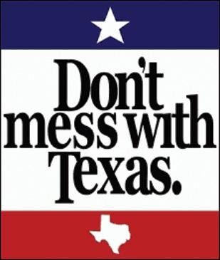 """The Texas Department of Transportation is looking to sell merchandise based off its """"Don't Mess With Texas"""" anti-littering campaign."""