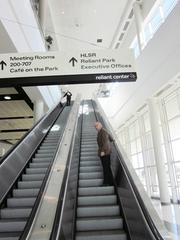 Rodeo headquarters are located on the second floor of Reliant Center.