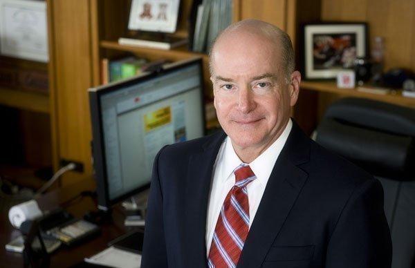 Dr. David Callendar, president University of Texas Medical Branch