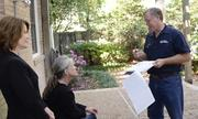 Tim Hedderman, of Houston-based Hedderman Engineering Inc., is doing inspections for Ballas' client, June Cullom.