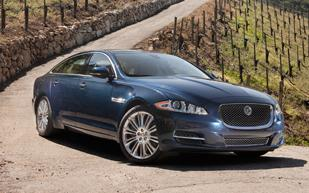 The Jaguar XJL has an impressive array of standard options — but the optional Portfolio Package includes massaging front seats, heated and cooled rear seats and four-zone climate control.