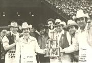 Stevens, second from right, was part of the group that won the 1978 World's Championship Bar-B-Que Contest that year.