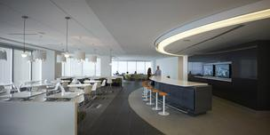 Natural light has gained importance in office design. One change is eliminating offices along window banks that close off views.