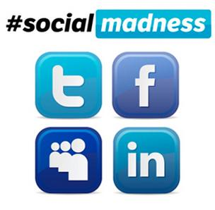 The final Houston round of Social Madness ends July 16. Vote online for the companies with the best social media skills.