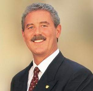 A file photo of R. Allen Stanford. He faces sentencing for his role in bilking investors out of $7 billion in a Ponzi scheme.