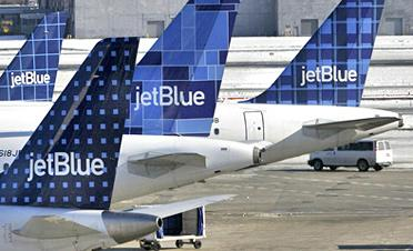 Analyst says courting JetBlue makes sense for the CVG airport.
