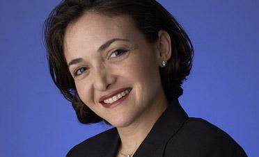 Facebook chief operating officer Sheryl Sandberg has become the first woman on the company's board of directors.