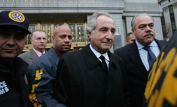 Bernard Madoff pleaded guilty to running a decades-long Ponzi scheme that bilked investors of billions of dollars.