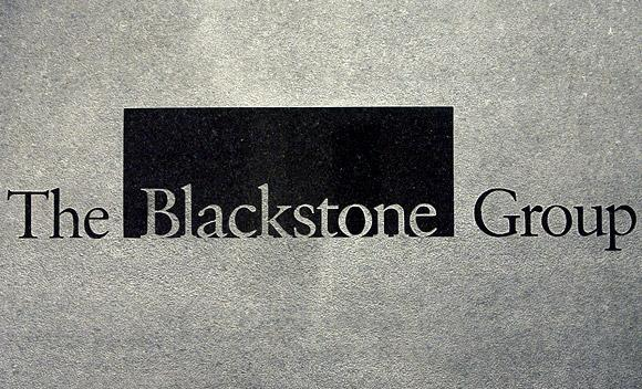 Blackstone, based in New York and the world's largest private equity firm.