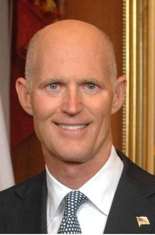 Rick Scott's refusal of provisions of the health care law makes federal control in Florida more likely.