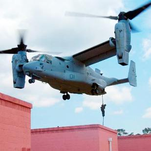 The drive system of the V-22 Osprey is considered one of the major patents from the Dallas-Fort Worth area.