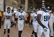 The Jaguars' linebackers walking The Prowl.
