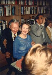 Mark Hulsey, one of the founding attorneys at what is now Smith, Hulsey & Busey, and Ann Ruffin, the wife of Charter board member Dr. WC Ruffin.