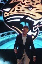 Jaguars' quarterback Blaine Gabbert.