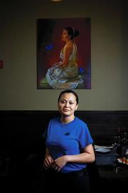 Ladda Salter, one of the three partners who started the restaurant Indochine in fall 2010.