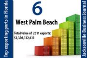 West Palm Beach ranked No. 6 in the state.