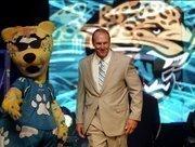 Jaguars' Head Coach Mike Mularkey.