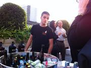 A wide selection of about 30 different beers and wines were available.