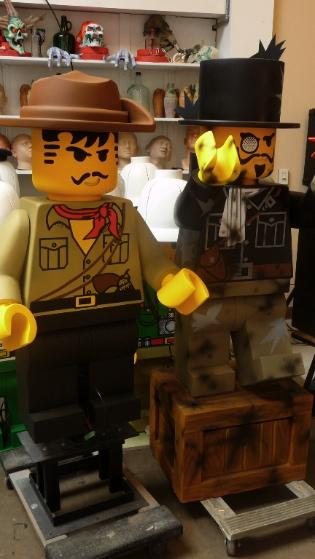 These Legoland characters will be soon be exported to Legoland Malaysia.