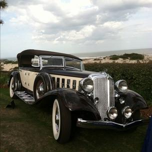 I uploaded this photo to Instagram from the Concours d'Elegance at the Ritz-Carlton, Amelia Island, Fla., last month. You can follow me on Instagram at @ashleykritzer, but consider yourself warned: In between photos of actual news events, there are too many photos of my dog.