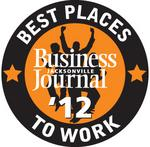Jacksonville's 2012 Best Places to Work