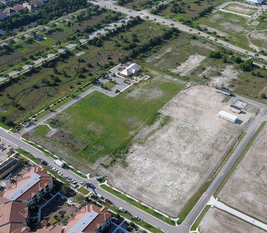 The site of the $12.4 million, 142-unit Dakota @ Abacoa Apartments in Jupiter.