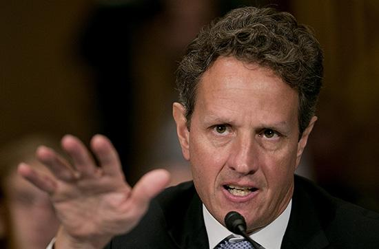 U.S. Treasury Secretary Timothy Geithner said the U.S. economic recovery is in the home strait.