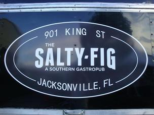 The Salty Fig restaurant is expected to open in early November.