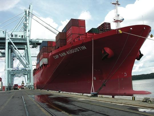 U.S. trade deficit widened in August, as exports fell to a six-month low.