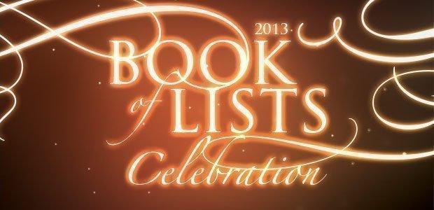 2013 Book of Lists Celebration Banner