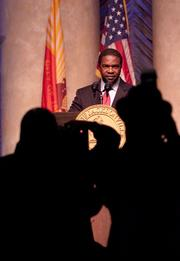 Alvin Brown was elected to be the mayor of Jacksonville this May. He is the first African-American mayor in Jacksonville.