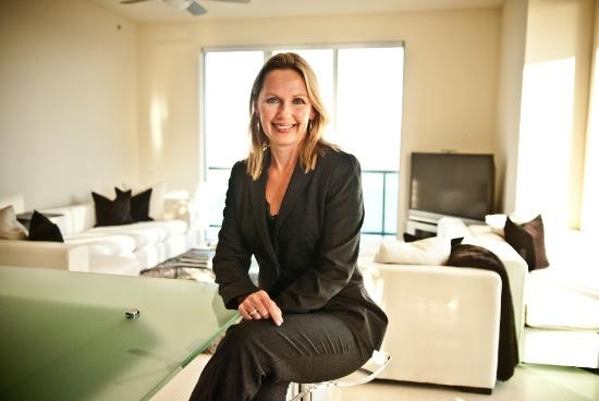 Gabija McLaughlin is a residential real estate investor who bought a condominium in The Peninsula in 2009. She lives there with her two teenage children, who attend The Bolles School.