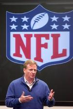 NFL Commissioner <strong>Roger</strong> <strong>Goodell</strong> tells fans to do their part to keep Jaguars in Jax