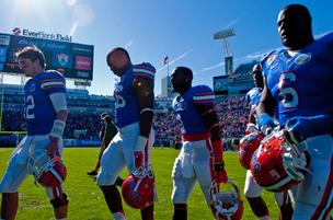 If the Florida Gators could be sold, they would fetch more than $599 million — according to one college professor's calculations.