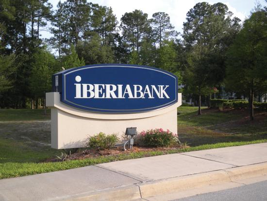 Louisiana-based IberiaBank Corp. has agreed to acquire four bank branches in Memphis from Trust One Bank.