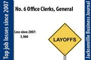 In 2007 there were 15,770 Office Clerks, General. In 2011 there were 11,810.
