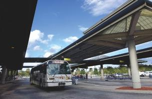Jacksonville's mass transit ranked below average in the Brookings Institute study.