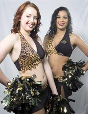 Jacksonville Jaguars Roar cheerleaders