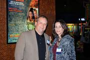 Jeff Schmidt and Glory Faunce of Comcast Business Class, a 2012 Book of Lists sponsor.