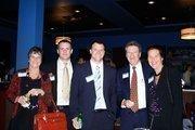 From left to right: K.C. Padget, Matt Romano, Nelson Bruton, Mike Nolan, Marme Kopp.