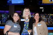 Joni Pierce (right) and Laura Nolan (center) of Himana Inc. with Amy Williams.