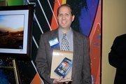 Mark Shainbrown of the Jacksonville Jaguars won an Amazon Kindle Fire.