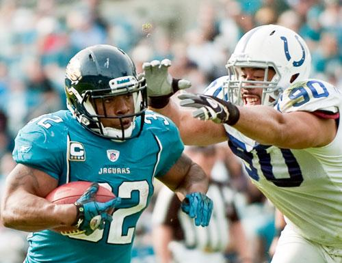 Maurice Jones-Drew is a no-show to the Jaguars first day of training camp.